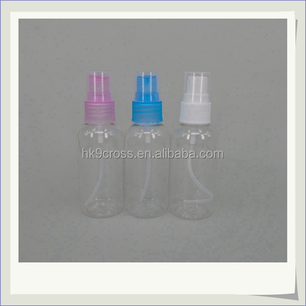 wholesale empty clear plastic spray 30ml powder oil perfume bottles
