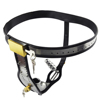 BDSM Male Chastity Belt Stainless Steel Underwear Bondage Gear Gay Party Sex toys