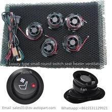 Portable cooling car seat