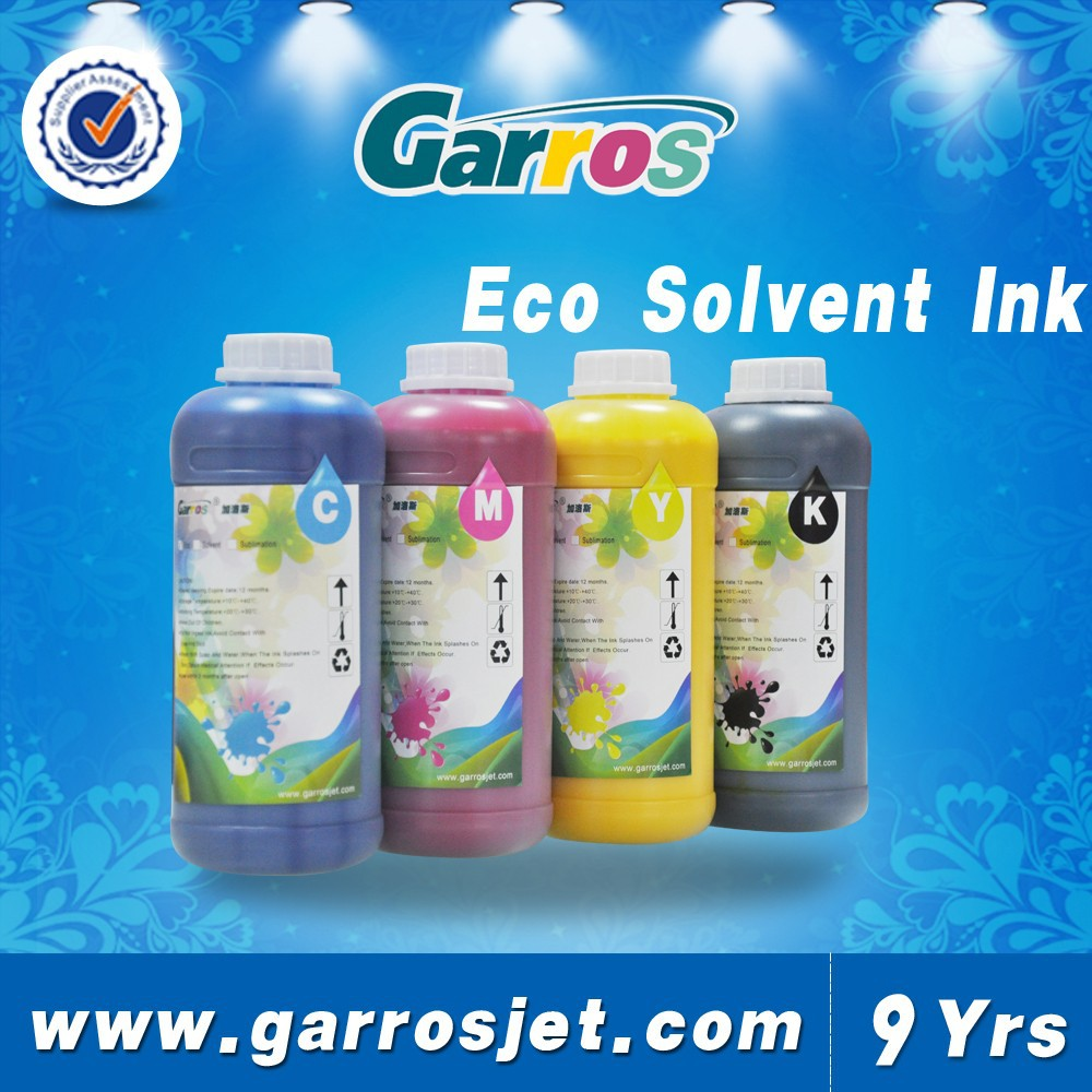 Garros roland RS 640 eco solvent ink for Epson DX4/DX5/DX6/DX7 heads