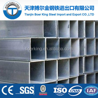 Building Material made in China Q195 galvanized Square Hollow Section Pipe