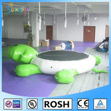 Sunway Funny Inflatable Turtle Water Trampoline,Island Hopper Turtle Hop