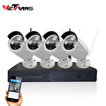 HD 1280*720P Wireless IPK9004B-W Day/Night Network Surveillance Camera Motion Detect and Night Vision Security Camera System