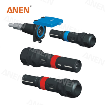 NBC 2017 ANEN IC600 MULTI CONTACT BAYONET LOCKING 21MM ROUND STAUBLI ENERGY POWER CONNECTOR FOR MOBILE EMERGENCY POWER SYSTEM