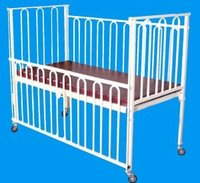 Hospital Type Baby Bed, Both Sides Safety Locks