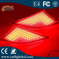 New High Power Red Tail Light Car Accessories 12V Led Waterproof Rear Bumper Lights for Lexus IS