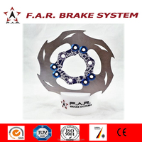 CNC off-road floating scooter dirt bike brake disc