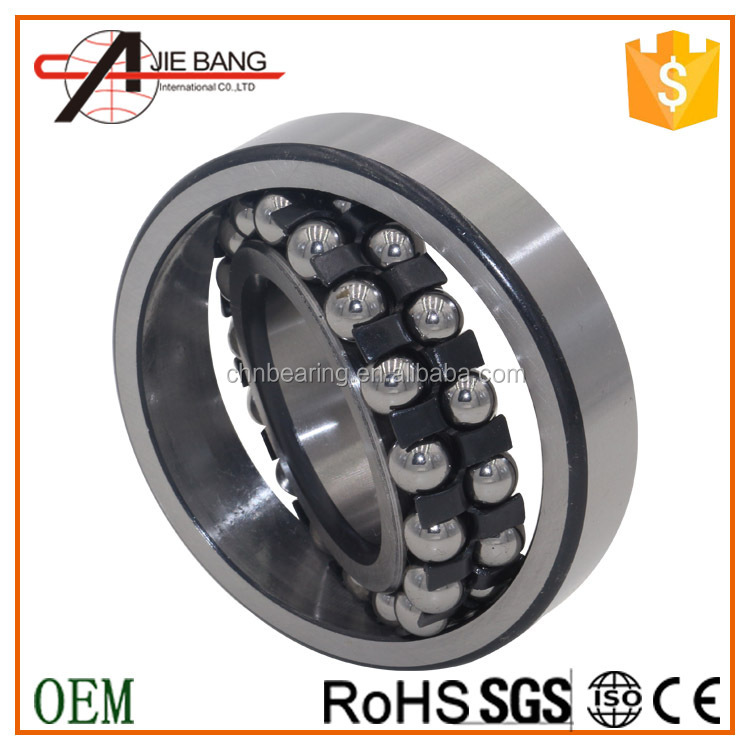 China supplier stainless steel 1206 self-aligning ball bearing