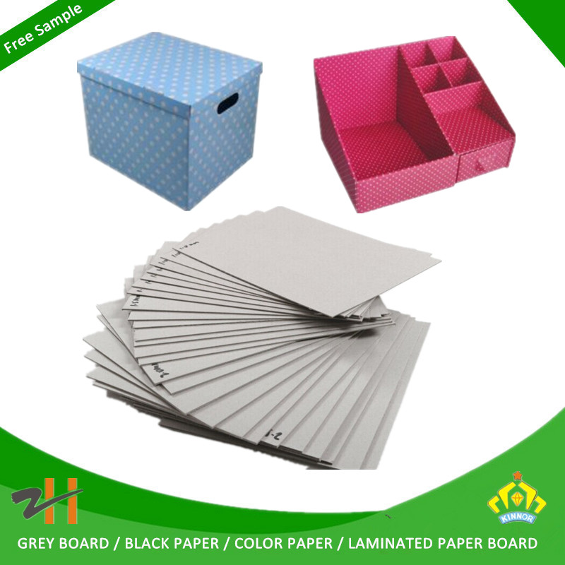 Uncoated Coating and Gift Wrapping Paper Use Grey Cardboard/Book Binding Board/Book Binding Material
