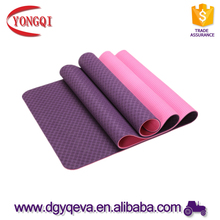High quality eco-friendly custom printed folding TPE yoga mat 10 mm for gymnastics