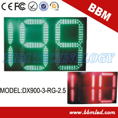 900mm red/yellow/green led countdown timer Traffic Light