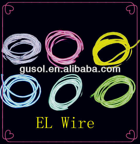 EL wire / luminescent Wire/ Cable