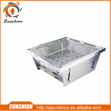 Sunshion Stainless Steel Outdoor Foldable Barbecue Grill