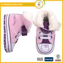 Hello Kitty Wholesale Baby Girl Canvas Shoes
