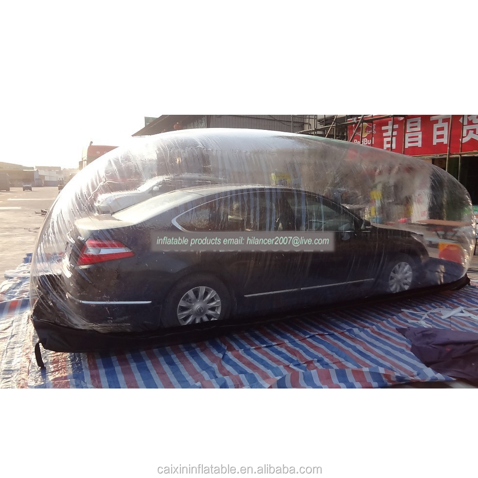 customized inflatable car cover bubble for sale
