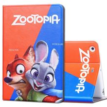 (Hot Hot ) Hot Movie Zootopia Smart Case Cover for ipad Air/ Air 2/ ipad 1/2/3/4