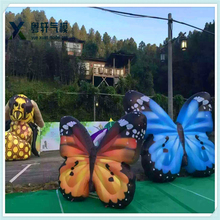 High quality artificial butterfly/inflatable butterfly for decoration