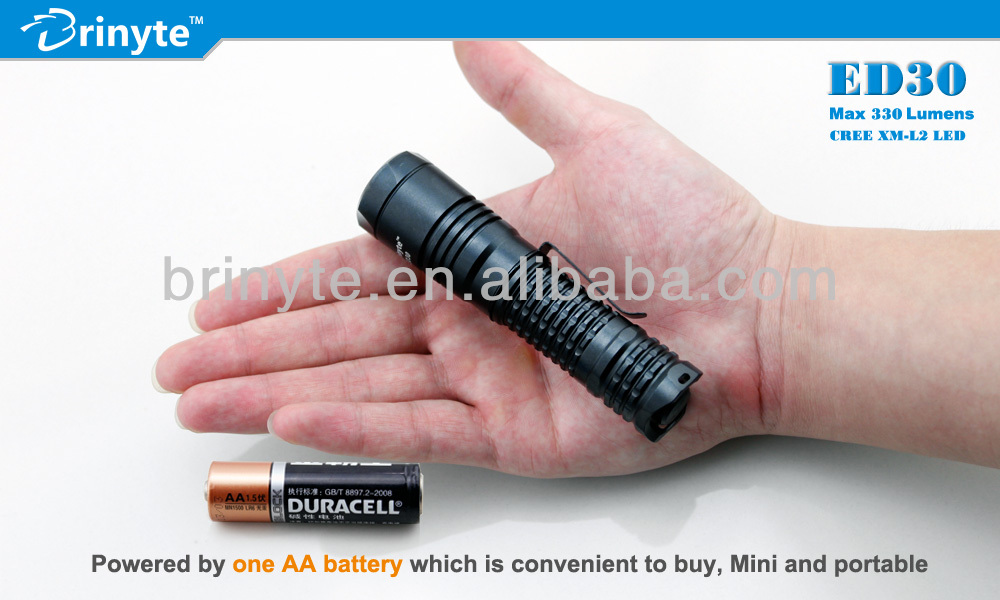 Aluminum Waterproof Mini High Lumen CREE Geepas Flashlight