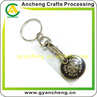Hot Selling Custom Car Logo Keychain, OEM Car Brand Key Chain, Metal Car Keychain