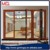 aluminium frame folding door aluminium double glass door accordion door