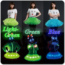 Glowing Fairy LED Light-Up Adult Tutu Skirt for Holiday
