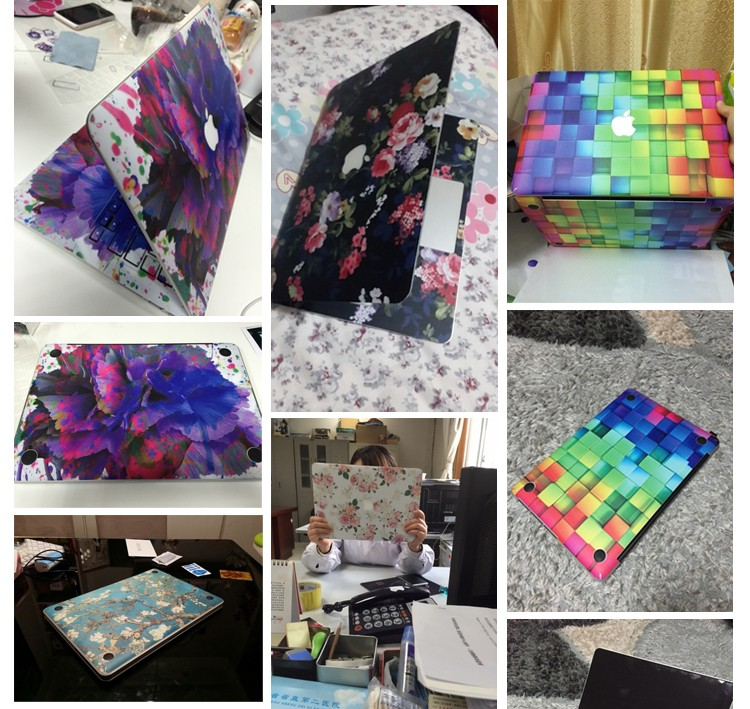 Wholesale new arrival full body laptop skin laptop stickers for macbook skin from shenzhen factory