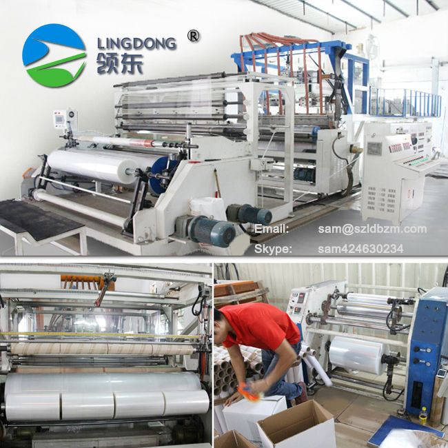 China factory PE strech film Pallet shrink wrap stretch film