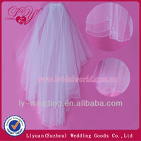 off white wedding veils for wedding