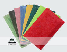 sound absorbing mdf board low price polyester soundproofing light acoustic panel