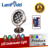 Top Quality Stainless Steel 20W LED RGBW Underwater Light For Pool Aquarium Decoration
