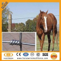 (ISO9001)Made in China hot dip galfan field fencing price