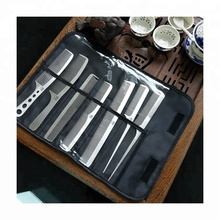 2018 BQ-S3025 wholesale salon stainless steel silver custom hair comb sets supplier