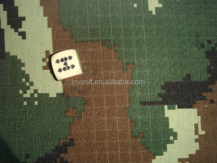 Hot Popular Camouflage Printed Fabric