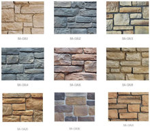 Stacked field stone production artificial stone for wall decorative