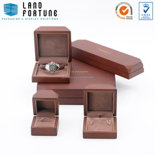 Matt paint wood packaging box jewellery box high end jewelry box