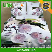 wholesale luxury cotton 3d 100%cotton sex for queen size bedding sets 4pcs