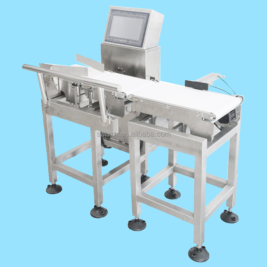 Food Weight Scale Digital Belt Conveyor Machine Online Weight Packaging Machines for Cookies