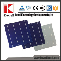 wholesale 4BB high power polysilicon pv silicon solar cell price made in Taiwan