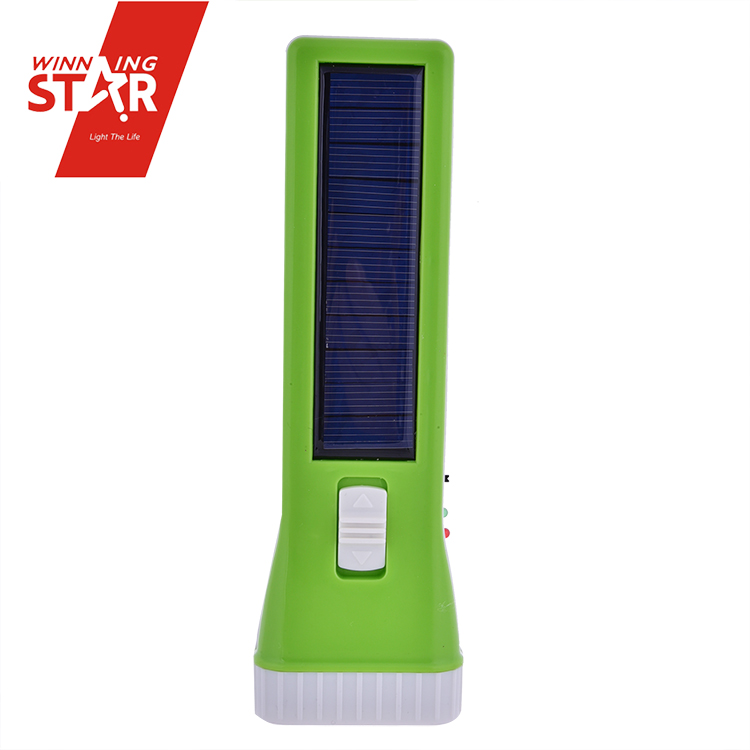 winningstar Charger 4 in 1 Solar Power Rechargeable 8+1W LED Flashlight with USB interface