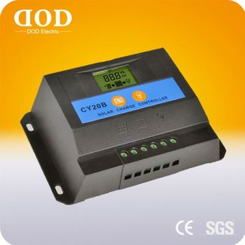 manufacturer LCD Display 30a 50a temperature compensation 12V 24V PWM solar charge controller 60a