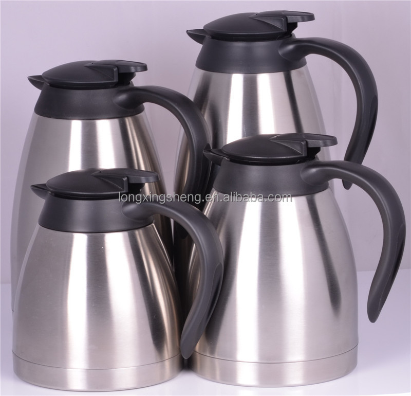keep hot and cold 24 hours water jug/induction coffee pot/antique metal coffee pots