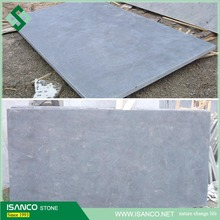 Shandong blue limestone pool coping pavers swimming pool tiles sawn cut surface bluestone uniform color floor tiles cut-to-size