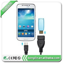 New fashion usb charging cable otg data cable,mini usb otg cable to Flash Mouse Keyboard