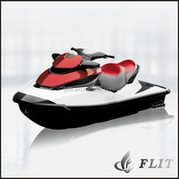 Promotion jetlev with power jetski