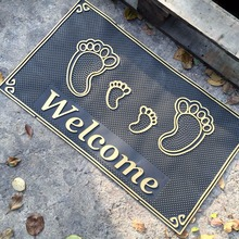 Anti Slip Non Skid PVC Vinyl Plastic Floor Entrance Welcome Foot Door Mats