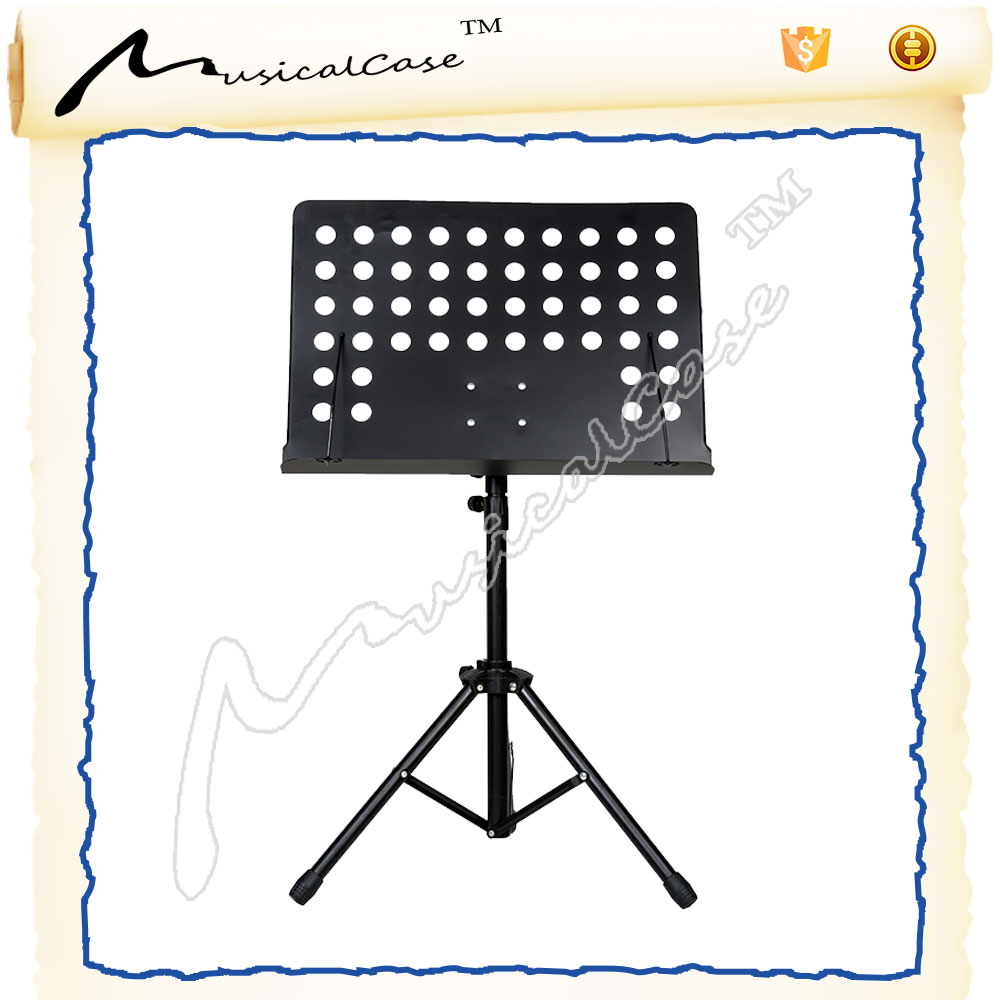 best quality music man stand & lron black cheap decorative music stand made in china