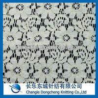 bulk polyester gold lace fabric