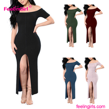 Wholesale Oem Service Indonesia Ladies Sex Maxi Dress 2017