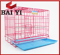 New pet dog cage with removable tray