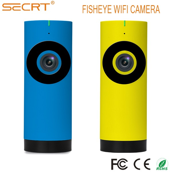 2016 New Arrival FishEye 360 camera Smart mini camera